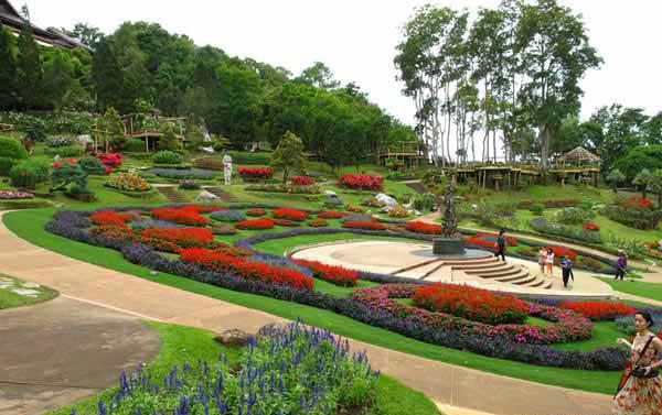 泰国皇太后御花园