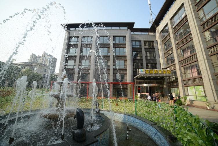 图一为上海美庭阳光家园外景