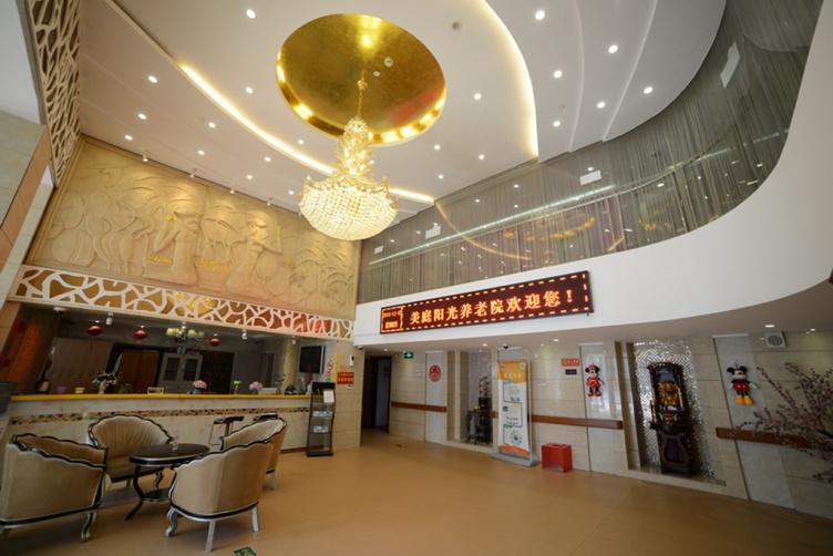 图二为上海美庭阳光家园大厅