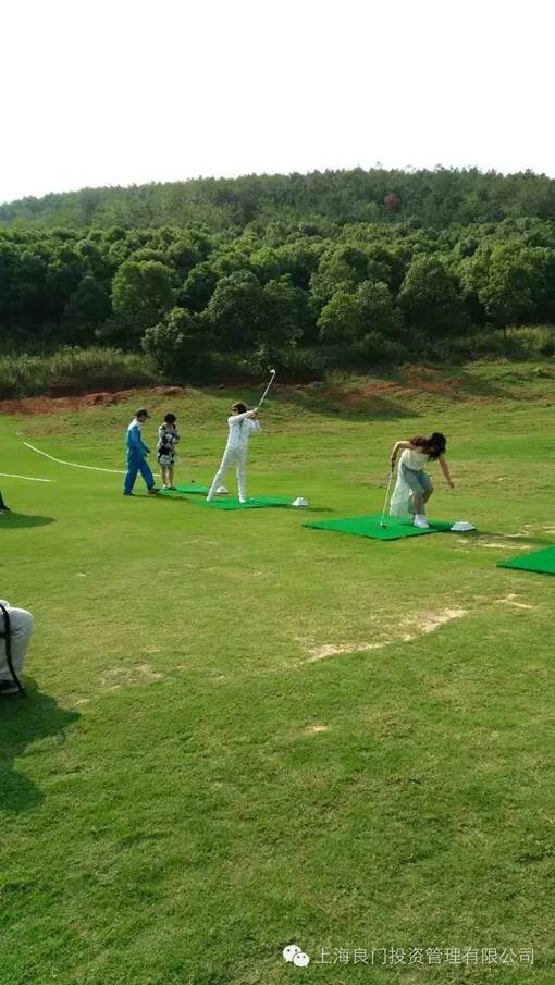 图四为基地的高尔夫球练习场