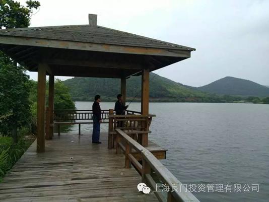 图六为基地的渔人码头垂钓区