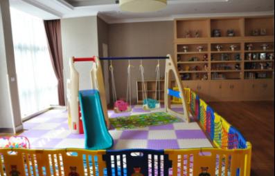 图四  遐福养老院中的儿童乐园。