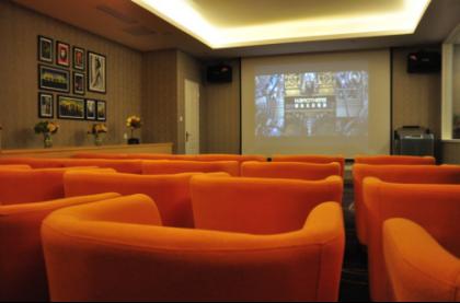 图十一  遐福养老院观影室。