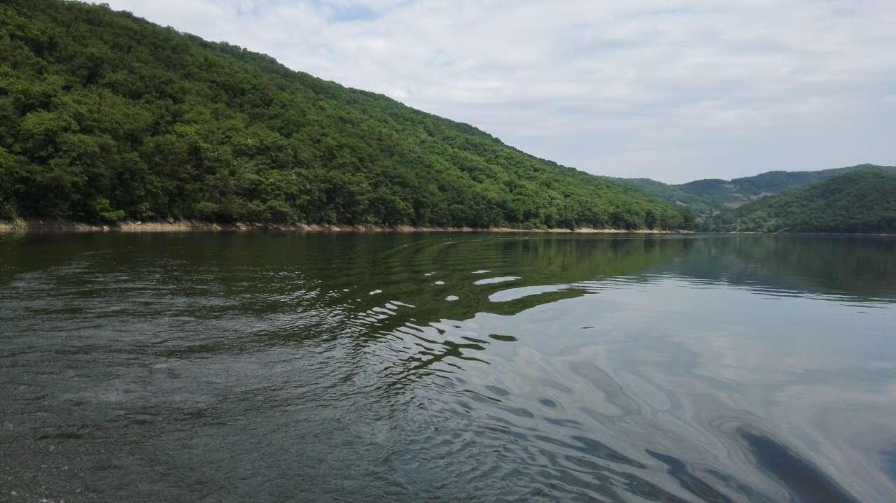 这是游船经过的水域,有3000多亩,让人心旷神怡。